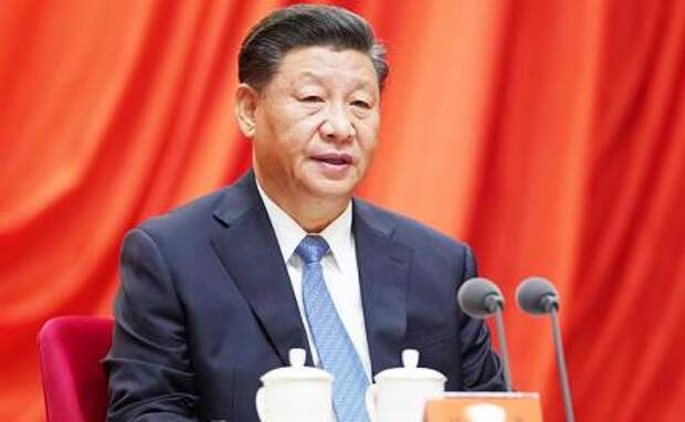 На фото: председатель КНР Си Цзиньпин