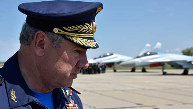 Главнокомандующий Военно-космических сил России, генерал-полковник, герой России Виктор Бондарев