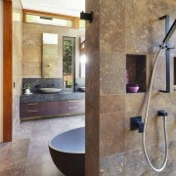 Керамическая плитка в ванной в восточном стиле