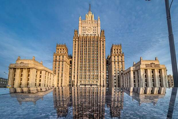 МИД России. Фото: Konstantin Kokoshkin/Global Look Press/www.globallookpress.com