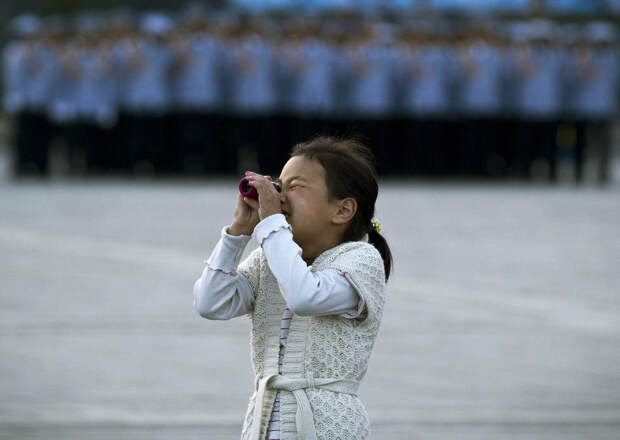 Монгольская девочка
