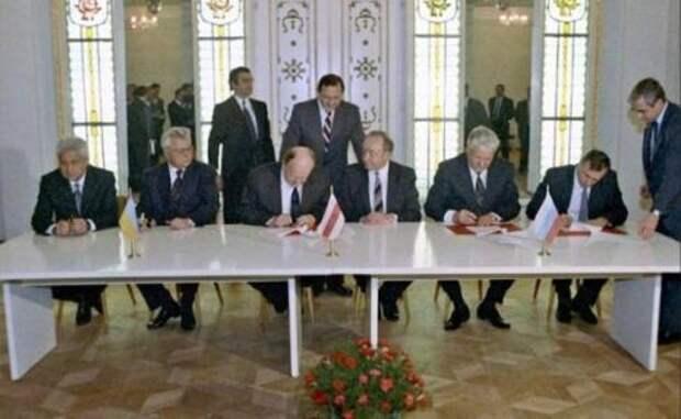 Кто украл оригиналы Беловежских соглашений?