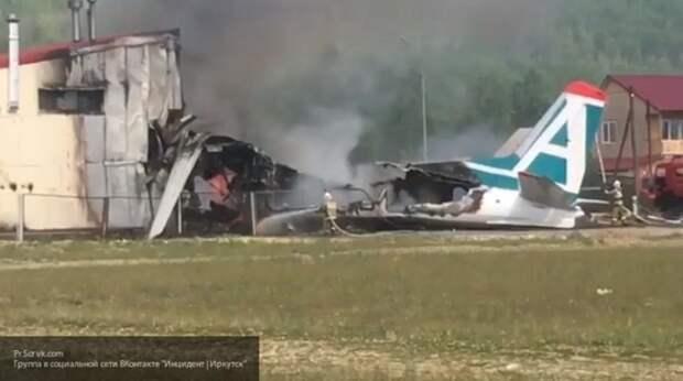 Аварийная посадка самолета АН-24 в Бурятии — есть погибшие