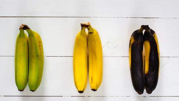 Разница между зеленым и спелым бананом