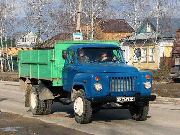 ГАЗ-52 автомобили, газ, фоторепортаж