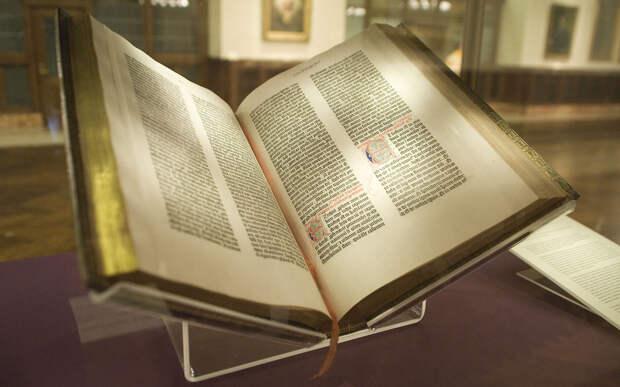 2. Библия Гутенберга книги, миллионы, факты