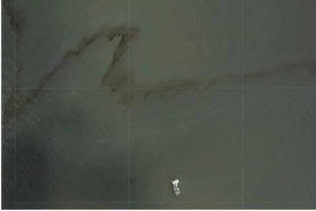 В США сообщили об утечке нефти в Мексиканском заливе