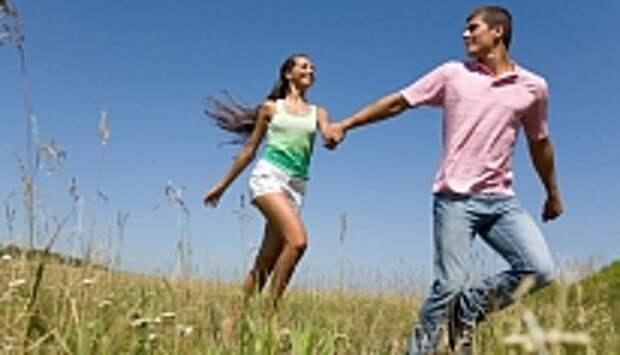 счастливая женская походка