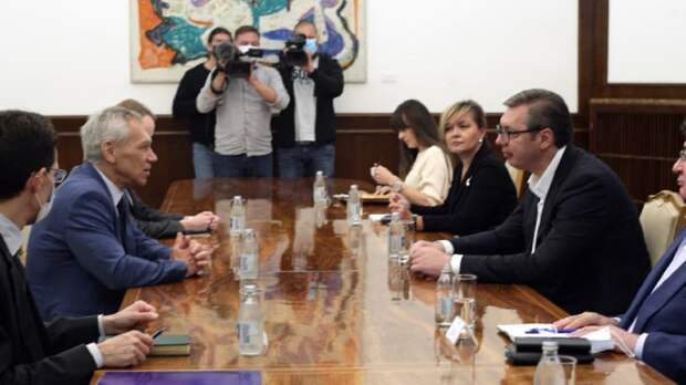 Вучич надеется переговорить с Путиным