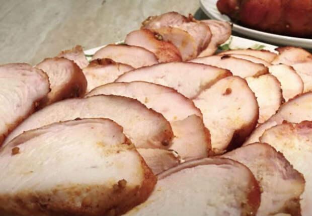 Делаем неделю подряд вместо колбасы: нежнейшая пастрома в пряностях