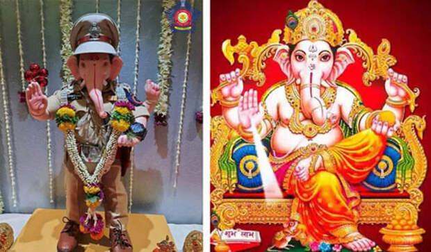 Индийские полицейские приняли на работу бога