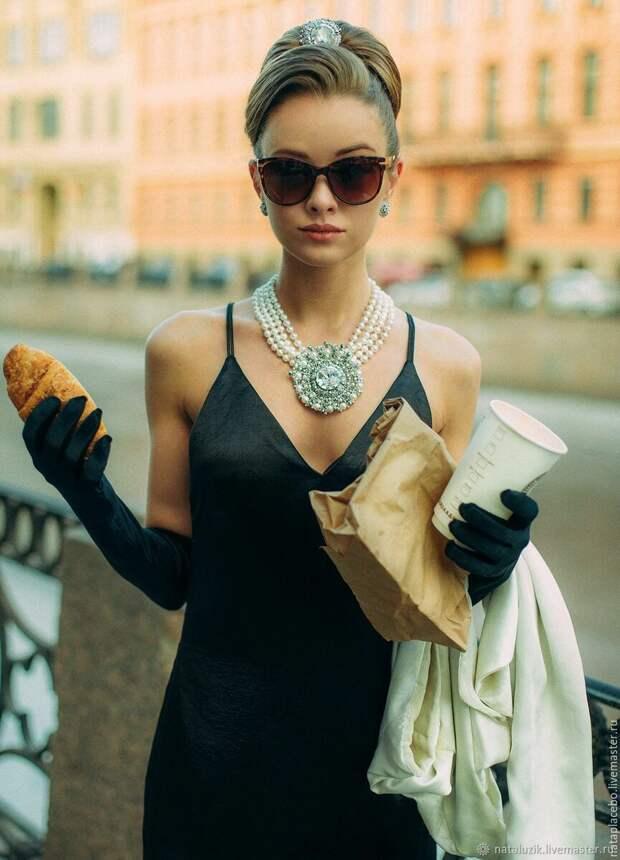 "кадр из х/ф ""Завтрак у Тиффани"" (1961). Источник: Яндекс.картинки"