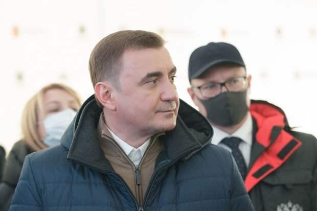 Тульский губернатор занял 93 строчку в ТОП-100 ведущих политиков РФ