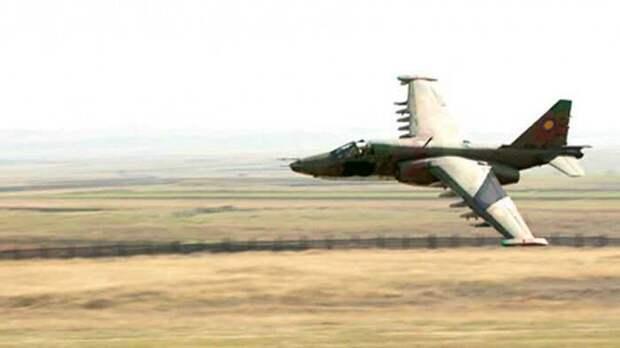 В Карабахе армяне сбили Су-25 ВВС Азербайджана, пилот погиб