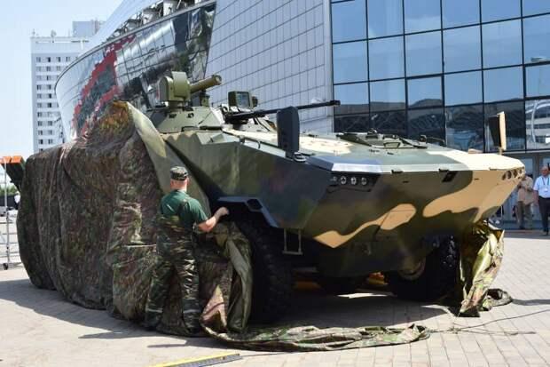 Volat V-2. Современный бронетранспортер для белорусской армии