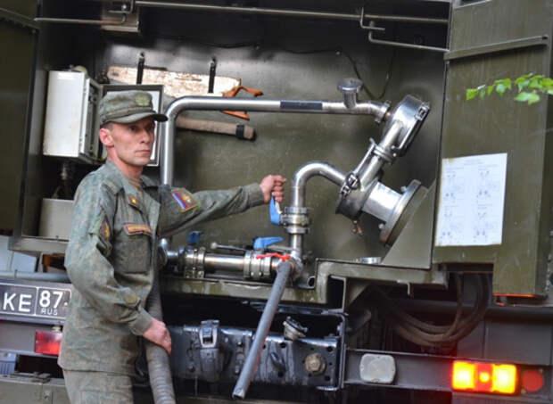 В воинских частях ВВО в Республике Бурятия, принимаются  комплексные меры в особый пожароопасный период