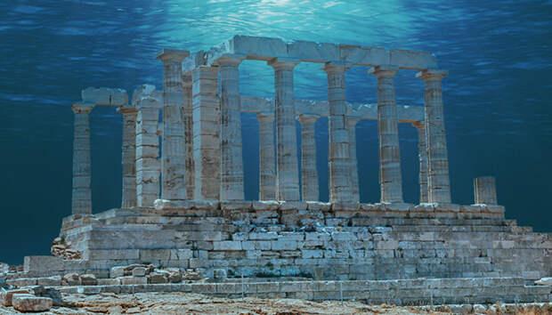 Храмовый подводный город Гераклион: Действительно ли это та самая Атлантида