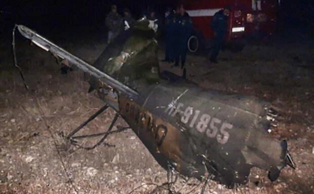 Сбившего российский Ми-24 азербайджанского военного до сих пор не нашли