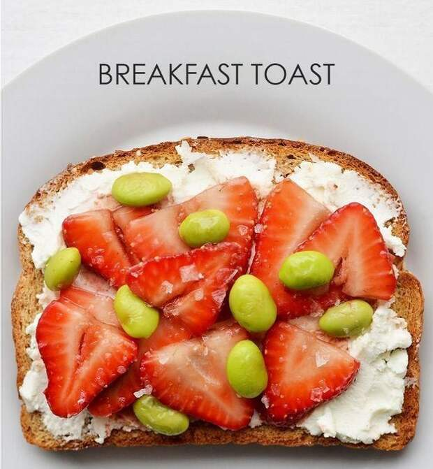21 вариант приготовления необычных тостов на завтрак