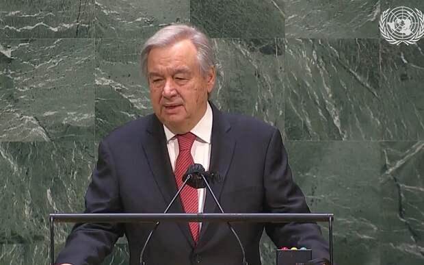 ГА ООН утвердила Гуттереша на пост генсека организации еще на один срок
