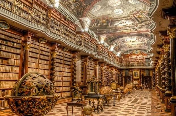 Клементинум: самая красивая библиотека в мире
