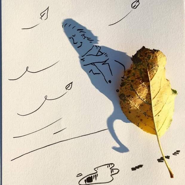 Винсент Баль: использование теней от повседневных предметов в причудливых иллюстрациях