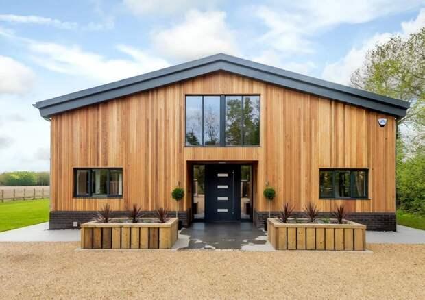 Британец сделал из старого сарая роскошное жилье за 1,3 миллиона долларов дизайн, до и после, дом, жилье, переделка, ремонт, трансформация