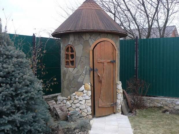 туалет на даче как построить