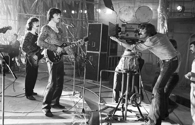 Михаил Боярский и группа «Машина Времени» на съемках кинофильма «Душа». 1981 год. Весь Мир, история, фотографии