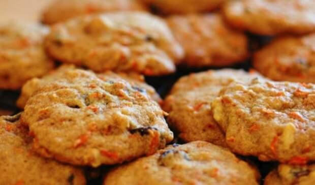 Печенье из моркови. \ Фото: koolinar.ru.