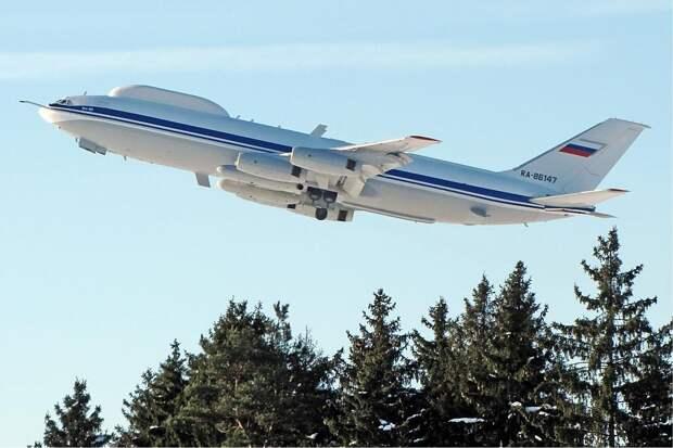 ИЛ-80 — летающий командный пункт управления Вооруженными Силами