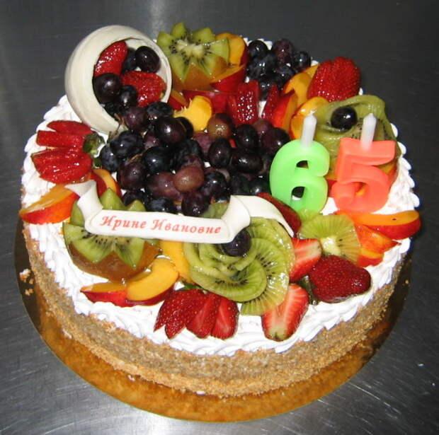 Какой торт подарить бабушке?