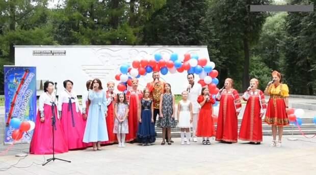 Воспитанники «Дома творчества Ховрино» дали концерт в Грачёвке