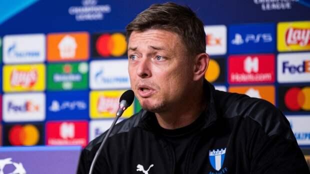 Тренер «Мальме» накануне матча с «Зенитом» назвал Дзюбу крутым игроком