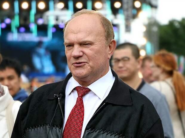 Зюганов предложил перенести единый день голосования на апрель