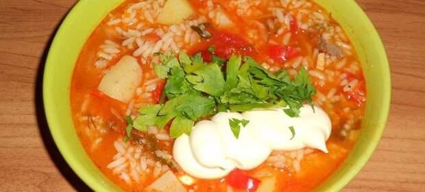 классический рецепт супа харчо с картошкой