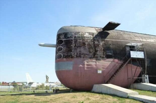 Как советская подводная лодка Б-307 смогла оказаться посреди поволжских степей
