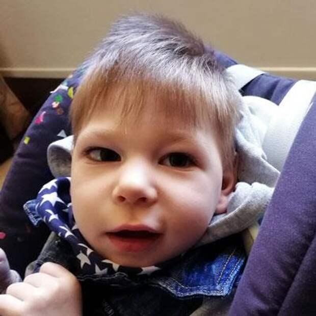 Ваня Горбов, 5 лет, детский церебральный паралич, требуется лечение, 80115₽
