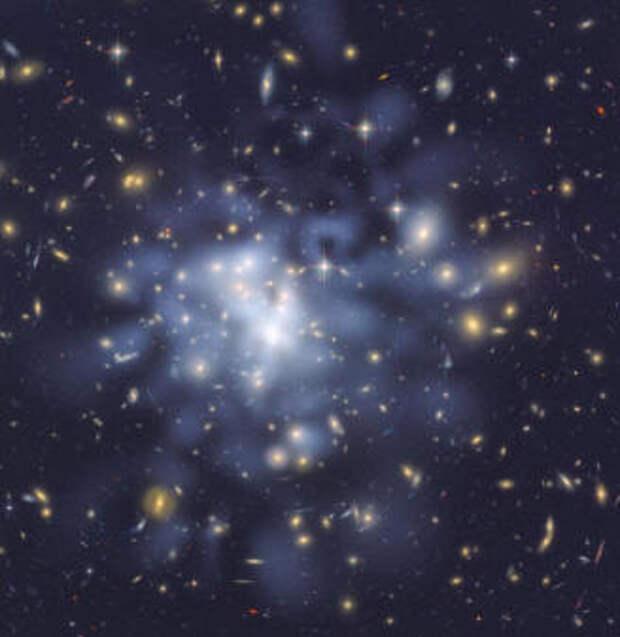 Из чего состоит темная материя космоса?