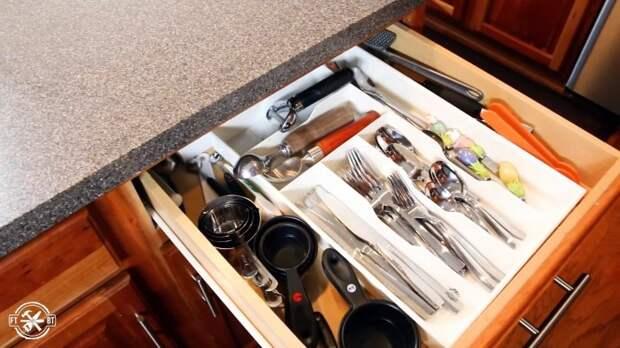 3 идеи организации мест хранения на кухне
