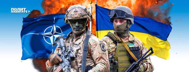 Украинские военные вместе с НАТО отрабатывают зачистку неподконтрольных территорий