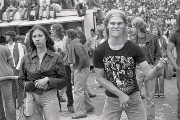 Старая школа: как отжигали фанаты роллингов в 70‑е