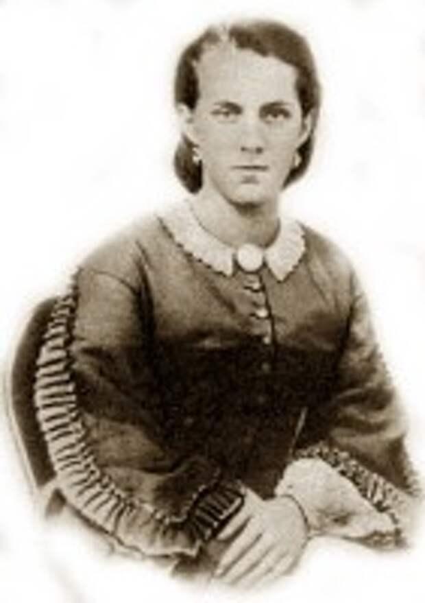 Анна Достоевская (Фотография 1863 г., отредактирована А. Сдобниковым)