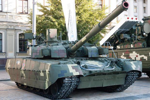 """Танк для парада: всего один """"Оплот"""" изготовят на Украине в 2021 году"""