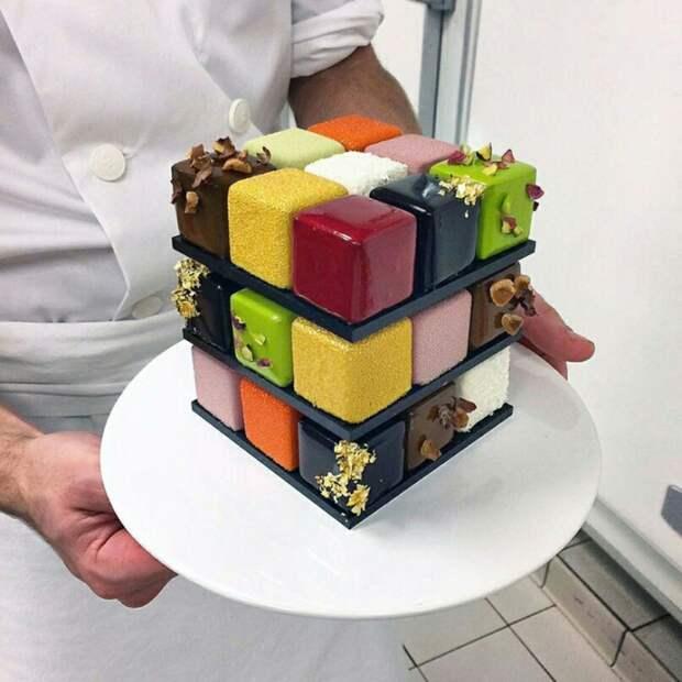 Тортик Рубика