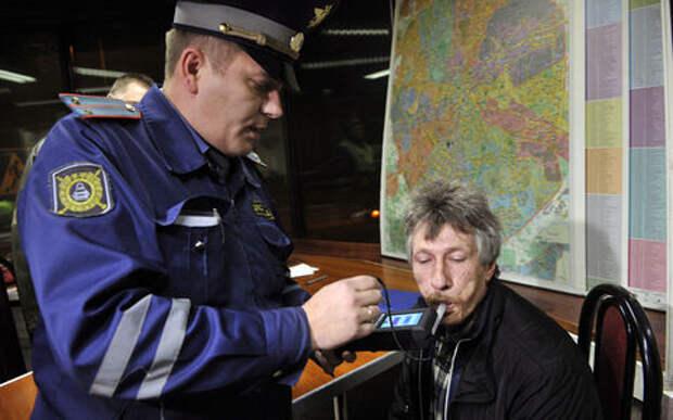 МВД хочет ужесточить наказание за отказ от медосвидетельствования