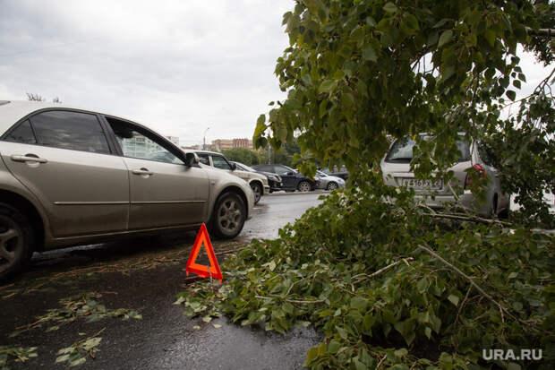 ПоТюменской области прошелся ураган