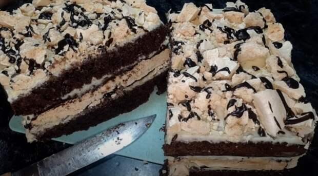Роскошный торт «Поцелуй Молодости» к чаю и на праздник. Можно потерять дар речи
