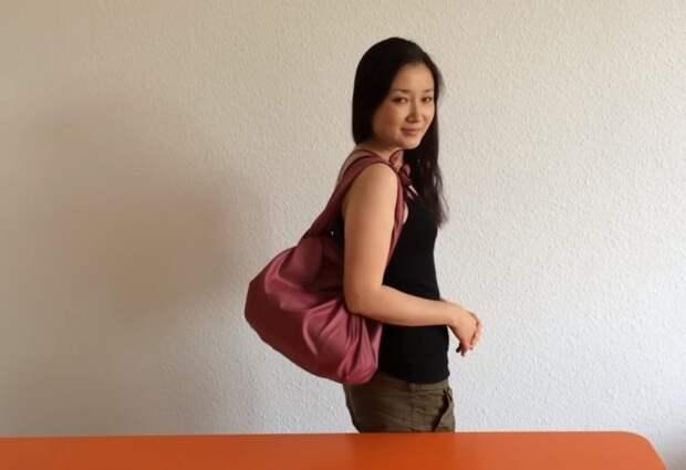 Многофункциональная сумка без выкройки и шитья