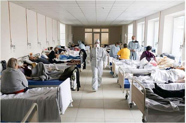 На Украине назвали число вакцинированных среди госпитализированных с COVID-19